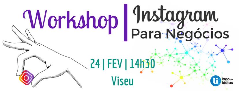 Instagram para Negócios - Lago de Ideias - comunicação empresarial